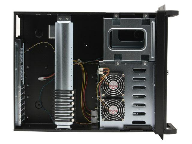 RM-4600S 4U Rack Mount Case with 6 Swappable SATA Trays