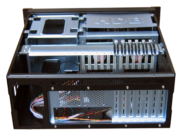 RM-4810D 4U Dual Door Rack Mount Case