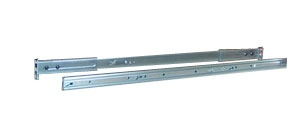 20-26 Inch Sliding Rails for 1U Rack Mount Cases