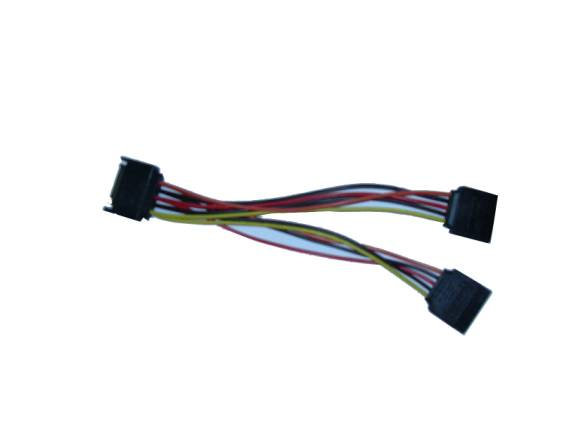 8 Inch One SATA Connector to Two SATA Connector Adapter Cable