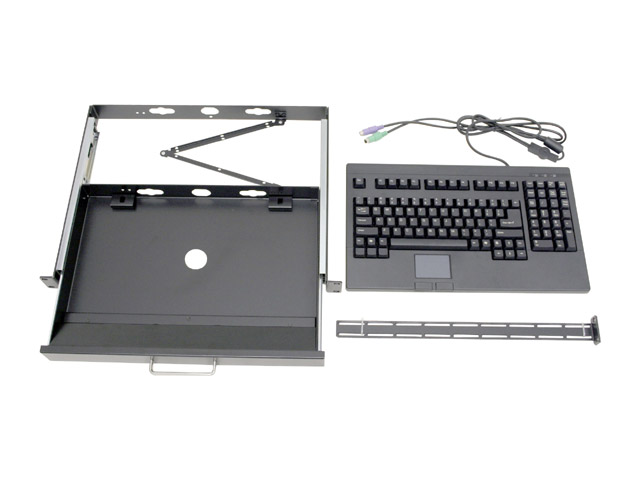 A100B Storm Series 1U Rackmount Keyboard and Touch Pad Drawer