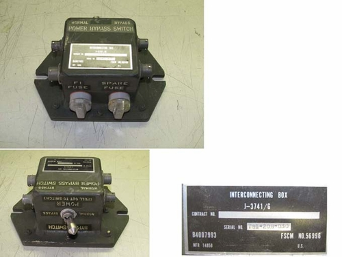 J-3741/G Interconnecting Box For Military Radio System