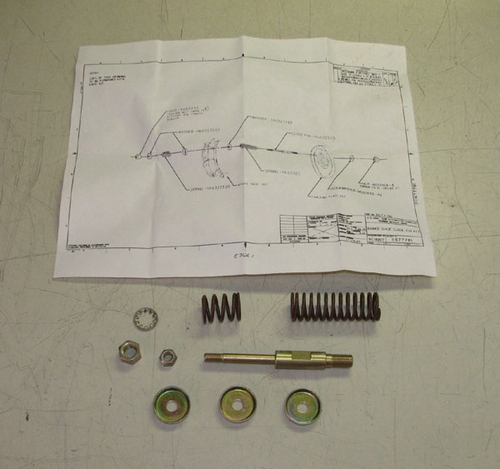 Brake Parts Kit For M54 & M809 Series 5 Ton Trucks, 11677781