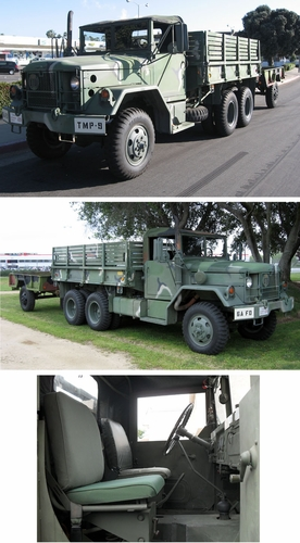 Patrick Taylor's M35A2C with M105A2 Trailer