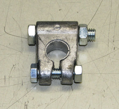 Battery Terminal Clamp (Mil-Spec), Negative Terminal, MS75004-2