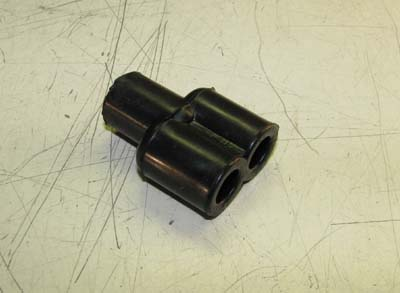 "Rubber Shell ""Y"" Connector MS27147-1"