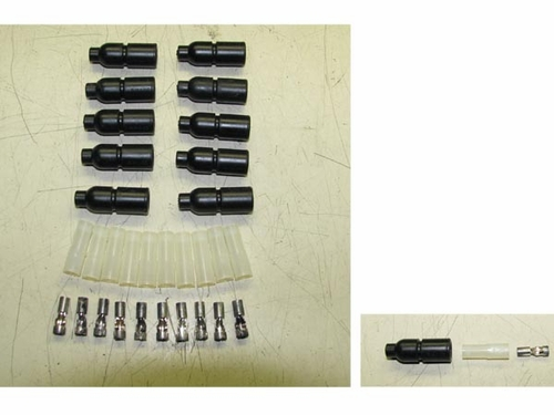 Rubber Shell Connectors (qty 10) MS27144-2