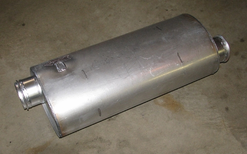 Muffler For M939 Series Trucks, 11669108