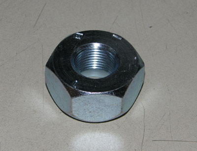 Lug Nut, Left Hand Threads, For M37/M35/M54/M809/M939, MS51983-1