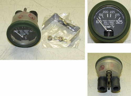 Temperature Gauge 100-325 F, 11669355 Faria