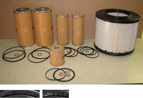 Filter Set Air, Fuel, Oil (6 pcs) For M35A2,  FS01A