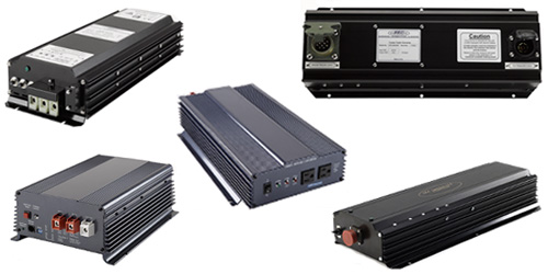 POWER INVERTERS, CONVERTERS, AND TRAILER VOLTAGE CONVERTERS