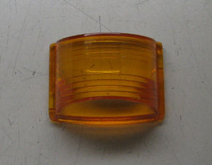 Side Marker Replacement Lens, Amber, MS35421-1