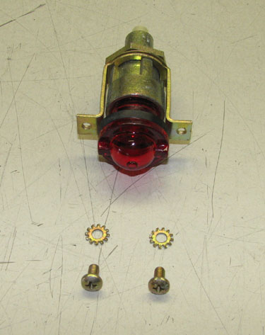 Warning Indicator Light (Red Lens), 7971111