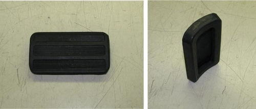 Brake or Clutch Pedal Pad For M35/ M809 / M54, 7520971