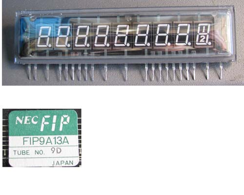 FIP9A13A VFD Vacuum Fluorescent  Display (new)