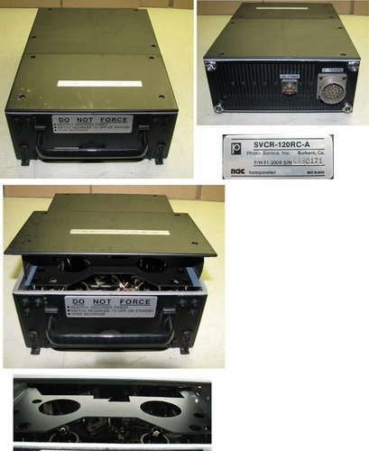 Aircraft VCR Unit, NAC / Photo-Sonics Inc SVCR-120RC-A