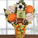 Game Time Get Well Cookie Bouquet