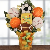 Game Time Thank You Cookie Bouquet