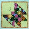 Additional Shop Hop Block Available: Folded and Dimensional Pieced Butterfly
