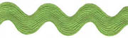 "Lime Ric Rac 1 3/8"" wide"