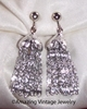 SILVERY CASCADE Earrings