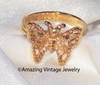 MADAME BUTTERFLY Ring