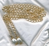 CHAIN O' FASHION Necklace/Belt - Goldtone