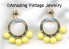 CARNIVAL Earrings - Yellow