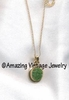 JADE OVAL NECKLACE