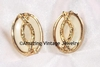 GOLDEN ROPE Earrings - Cream
