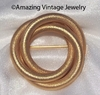 SARAH'S CIRCLE Pin - Goldtone