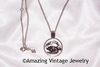 SILVERY ZODIAC Necklace - Cancer