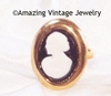 CAMEO LADY Ring - Large Frame