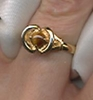 GENUINE TIGER EYE Ring