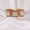 TRIO Ring - Goldtone