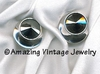 JET SET Earrings - Hematite - Clip