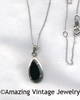 ONYX TEARS Necklace