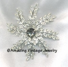 EVENING SNOWFLAKE Pin