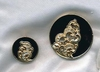 Pin Set - Black/goldtone