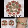 ACAPULCO SET - 1969 - Pin, Bracelet, Earrings available