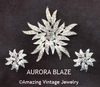 AURORA BLAZE Set - 1967 - Earrings available