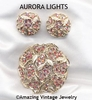 AURORA LIGHTS Set  - Pin & Earrings available