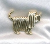 SHAGGY DOG Pin - Goldtone