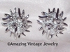SEA URCHIN Earrings - Silvertone