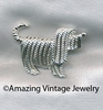 SHAGGY DOG Pin - Silvertone