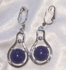 THREE CHEERS Earrings - Blue