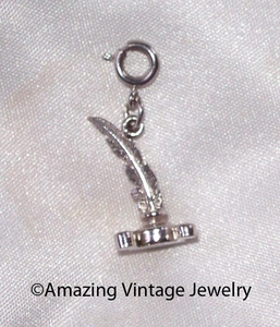 QUILL AND PEN Charm