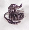 WRAP AROUND ZODIAC Ring Capricorn