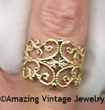 GOLDEN LACE Ring